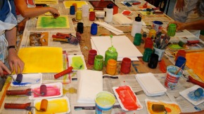 The wilder shores of painting