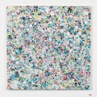 Sigh, 2016, 50 x 50 cm, Acryl auf Baumwolle