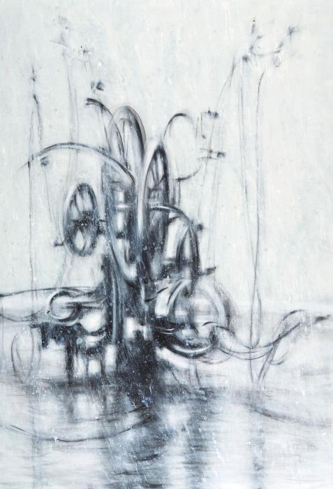 Sostenuto, 240 x 170 cm, 2005/09