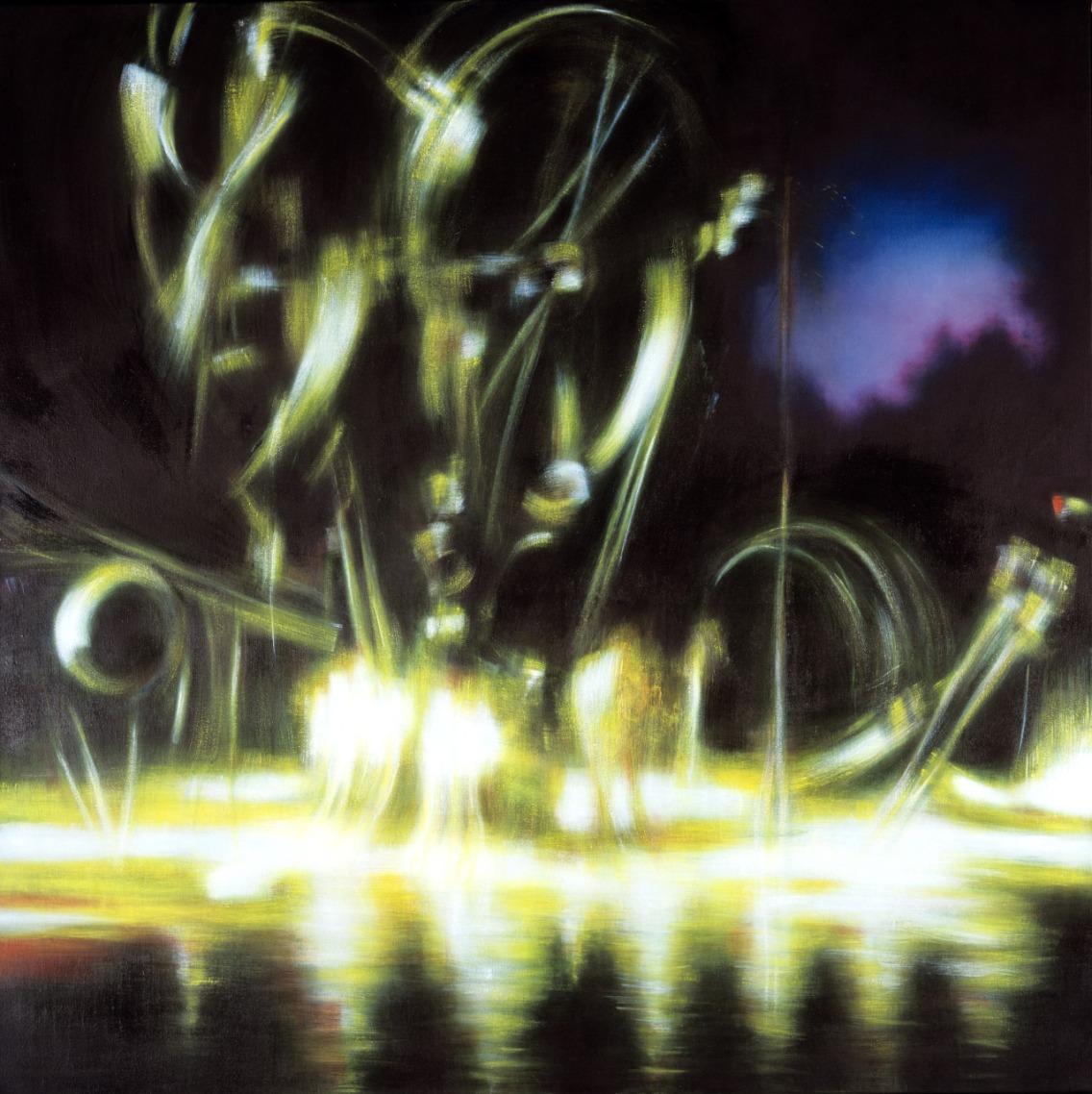 Notturno, 160 x 160 cm, 2004/05