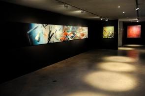 Ting decunstructed in der Ausstellung 'Ein leichtes leises Säuseln' im Espace Jean Tinguely Niki de St Phalle Freiburg