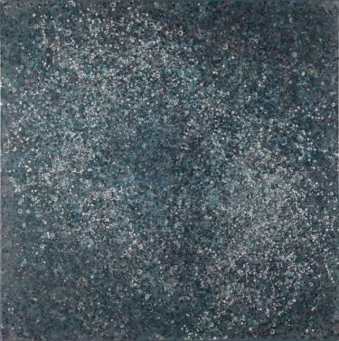 Ein leichtes leises Säuseln, 2012, 130 x 130 cm, Acryl auf Baumwolle