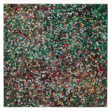 Jason, 2014, 60 x 60 cm, Acryl auf Baumwolle