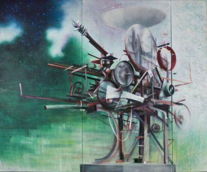 Heureka, 290 x 330 cm, 2008/09
