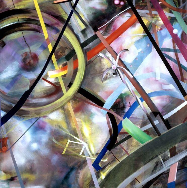 Studie nr 2, 145 x 145 cm, 2004/05