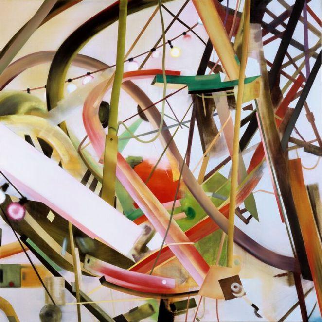 Studie nr 1, 145 x 145 cm, 2004