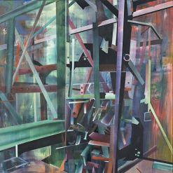Studie nr 7, 140 x 140 cm, 2009