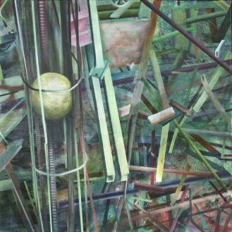 Studie nr 5, 145 x 145 cm, 2008/09