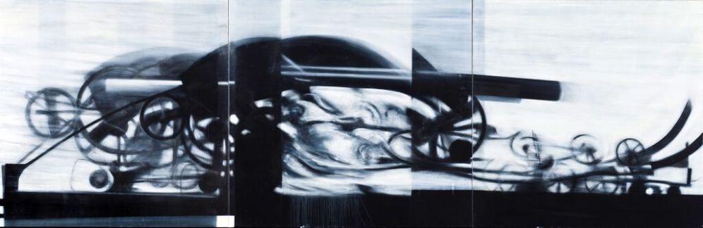 Hannibal 1967, 145 x 435 cm, 2005 _ 09