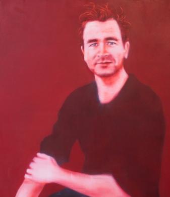 Pascal Vonlanthen, 120 x 105 cm, Acryl und Öl auf Baumwolle, Mariahilf 2017