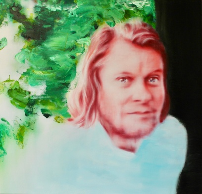 Frédérik Kondratowicz, 105 x 110 cm, Acryl und Öl auf Baumwolle, Mariahilf 2017