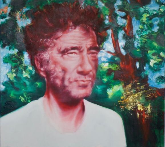 Christoph Gaugler, 90 x 100 cm, Acryl und Öl auf Baumwolle, Mariahilf 2017