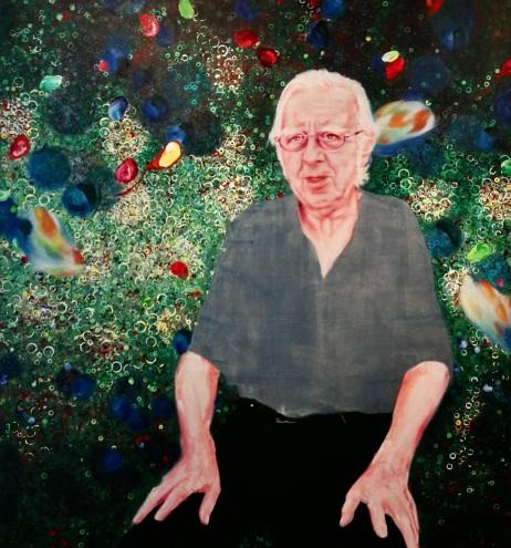 Gerhard Johann Lischka 150 x 140 cm Acryl und Öl auf Leinwand 2019
