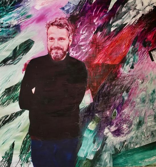 Werner Hasler. 170 x 160 cm