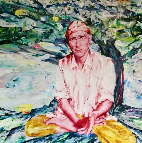 Imre Thormann. 160 x 160 cm
